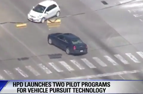 Houston Police Department Launches StarChase Pilot Program