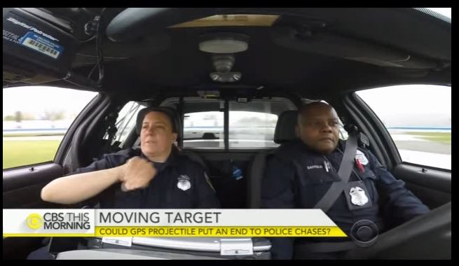 Cops' latest tool in high-speed chases: GPS Projectiles