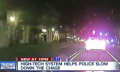 New high tech device could put the brakes on high speed police pursuits