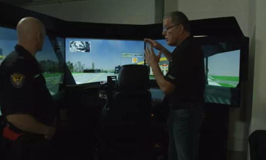 De-escalation and Controlling Speed - Simulation Training
