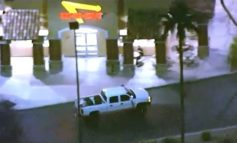 Suspect stops at In-N-Out during pursuit