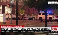 Dayton police: Suspect in crash that killed two children was driving stolen cruiser at 97 mph