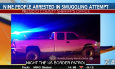 Nine arrested in smuggling attempt following high-speed chase
