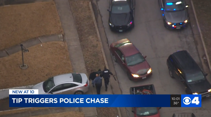 2 suspects arrested at end of chase in North County; 1 suspect still at-large