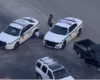 2 detained after northwest Miami-Dade police shootout, crash, chase